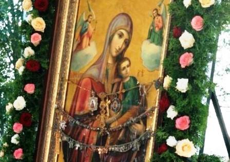 """До Здолбунова прибуде чудотворна ікона Божої Матері """"Страсна"""""""