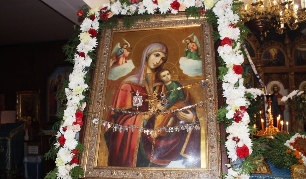 У Здолбунові побувала чудотворна ікона Божої Матері