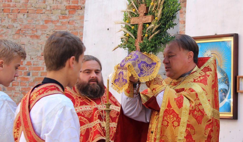 Свято Винесення Чесних Древ Животворящого Хреста Господнього